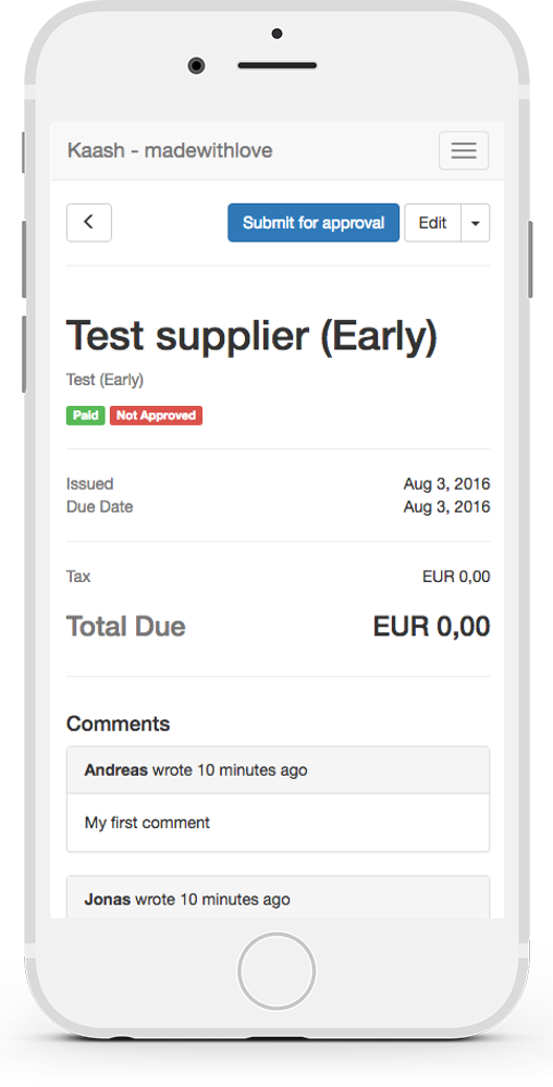 Automated Invoice Imports